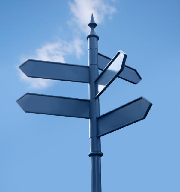 Executive at a crossroads