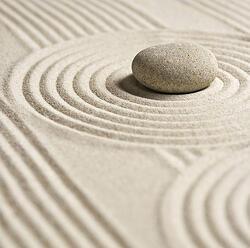 Image inline zen design