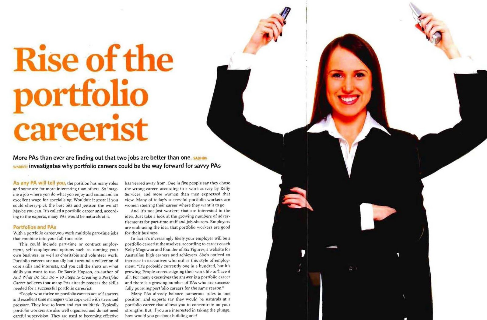 will you have a portfolio career